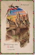 Laon Aisne Besetzung Kathedrale Halt Gegen Das Licht CONRALUZ Contre La Lumière 1914/15 WWI WWICOLLECTION - Altri Comuni