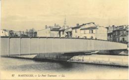 Cpa MARTIGUES 13 - 1917 - Le Pont Tournant N° 27 LL - Martigues