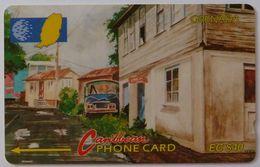 GRENADA - GPT - GRE-9C - Street Scene Gouvyave - $40 - Used - Grenada