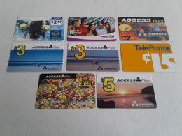 El Salvador - 8 Rarely Seen Phonecards - El Salvador