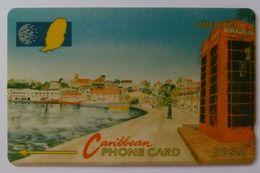GRENADA - GPT - GRE-10B - Carenage St George's - $20 - Used - Grenada
