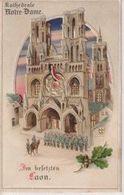 Im Besetzten St. Quentin   Halt Gegen Das Licht CONRALUZ Contre La Lumière 1914/15 WWI WWICOLLECTION - Controluce