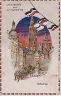 EROBERUNG ANTWERPEN Halt Gegen Das Licht CONRALUZ Contre La Lumière 1914/15 WWI WWICOLLECTION - Tegenlichtkaarten, Hold To Light