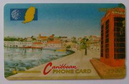 GRENADA - GPT - GRE-8B - Carenage St George's - $20 - Used - Grenada