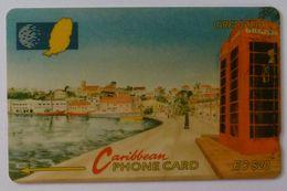 GRENADA - GPT - GRE-6B - Carenage St George's - $20 - Used - Grenada