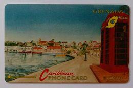 GRENADA - GPT - GRE-4C - Carenage St George's - $20 - Used - Grenada