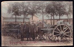 ZEER ZELDZAME - BEVERLOO - CAMP DE BEVERLOO ( Artillerie ) - LA GARDE AUX PIECES - édit Désiré Gothold - Belgique