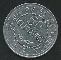 Bolivia 50 Centavos 2012 -  Pia22105 - Bolivia