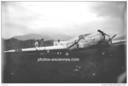 Avion René Couzinet Biarritz  3/4 Avant Accidenté - Reproductions