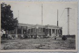 Photox2 CPAx2 BEERNEM Naast Oedelem Oostkamp Aalter Knesselare Belradio Radio Circa 1930 Centraal Pylône - Plaatsen