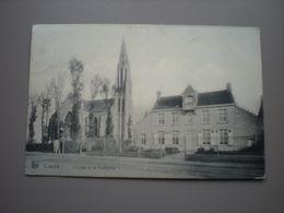 COXYDE 1909 - L'EGLISE ET LE PRESBYTERE - Koksijde