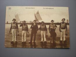 LITTORAL BELGE 1913 - REDDERS - LES SAUVETEURS - DIE RETTUNGSLEUTE - BEROEPEN / METIERS - Sin Clasificación