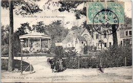 33 ARCACHON - La Place Des Palmiers - Kiosque    - Edition V.P. N°22 - Arcachon