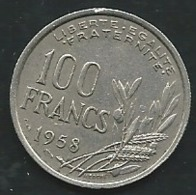 France   -  100 Francs 1958 B  Pia22208 - France