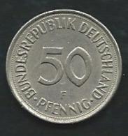 Allemagne  DUITSLAND 50 PFENNIG 1977 F  Pia22209 - [ 7] 1949-… : RFA - Rep. Fed. Alemana