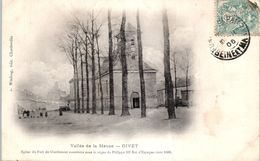 08 GIVET - église Du  Fort De Charlemont * - Givet