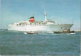 "BATEAU - Paquebot Car-Ferry ""PROVENCE"" - Piroscafi"