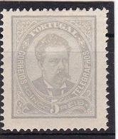 #12025  Portugal 1882,  Stamp 5 R, MH, Michel 54x,b,C:  King  Luiz I. No Guarantee - 1862-1884 : D.Luiz I