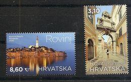 CROATIA 2020,TURISMUS,TURIZEM,TOWN ROVINY,SEE,,MNH - Kroatien