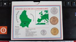 LUXEMBOURG FLEUR DE COIN 1993 NEUF SERIE COMPLETE - Luxemburg