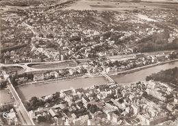 LAGNY-THORIGNY (77) Vue Aérienne De Thorigny , La Marne Et Le Pont En X  CPSM GF - Lagny Sur Marne