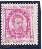 #12026  Portugal 1882/84,  Stamp 20 R, MH, Michel 62:  King  Luiz I. No Guarantee - 1862-1884 : D.Luiz I