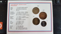 LUXEMBOURG FLEUR DE COIN 1994 NEUF SERIE COMPLETE - Luxemburg