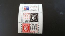 France Timbre NEUF N° 3212A (avec Vignette) - Année 1999 -  150e Anniversaire Du Premier Timbre-poste Français - Francia
