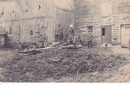 """""""Unsere Druckerei """" Soldats Allemands Inconnue    Carte  Photo Allemande 1° Guerre - Weltkrieg 1914-18"""
