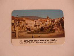 Insurance Assurances Seguros Grupo Segurador MSA Vila Real Portugal Portuguese Pocket Calendar 1979 - Calendriers