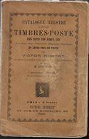 1895 CATALOGUE TIMBRES POSTE - VICTOR ROBERT ÉMIS DEPUIS 1840 JUSQU'A 1894 - RARE - Frankreich
