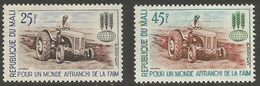 Mali - 1963 Freedom From Hunger  MLH *   Sc 43-4 - Mali (1959-...)