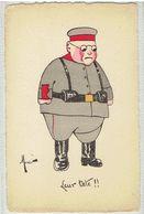 HUMOUR - Militaria -  Des Boches  Leur Tête - Illustrateur Manei - Soldat - Humour
