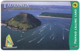 NEW ZEALAND B-006 Prepaid NetTel - Landscape, Coast - Used - Neuseeland