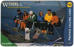 NEW ZEALAND B-007 Prepaid NetTel - Leisure, Snowboarding - Used - Neuseeland