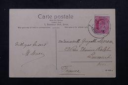 INDE - Affranchissement Plaisant De Aden Sur Carte Postale En 1911 Pour La France - L 62866 - India (...-1947)