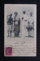 INDE - Carte Postale De Aden En 1904 Pour La France, Affranchissement Victoria, Oblitération Maritime Au Dos - L 62868 - India (...-1947)