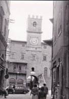 CORTONA - AREZZO - BOZZA FOTOGRAFICA N.7 - PER STAMPA CARTOLINA - PALAZZO COMUNALE - AUTO - UNICA!!!!! - Arezzo