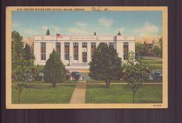 ETATS UNIS UNITED STATES POST OFFICE SALEM OREGON - Salem
