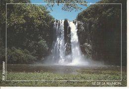 CPM, île De La Réunion , N°61St. Suzanne ,Cascade Niagara ,Phot. P. Linas, Ed. Agedis - Reunion