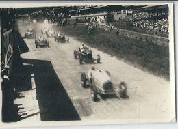 Francorchamps Grand Prix De Belgique 1935:  Le Départ  PHOTO  8.5 Cm/ 6 Cm - Stavelot