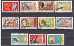 Korea Nort 1971 - Basic Tasks Of The 6-year Plan 1971 To 1967, Mi-Nr. 1025/35, Used - Korea, North