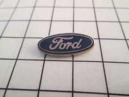 616a / Pin's Pins / Beau Et Rare / THEME : AUTOMOBILES / LOGO MARQUE FORD ANNEES 90 - Ford