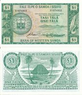Samoa - 1 Tala 1967 - 2020 Limited Official Reprint 2020 Serie S Pick 16dCS UNC Lemberg-Zp - Samoa