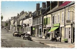 Dompirre Sur Besbre - La Grande Rue - Tabac Peche - Automobiles -  CPSM ° - Other Municipalities