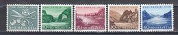Switzerland 1956 - Pro Patria, Mi-Nr. 627/31, MNH** - Suisse
