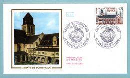 FDC France 1978 - Abbaye De Fontevraud - YT 2002 - 49 Fontevraud L'Abbaye - 1970-1979
