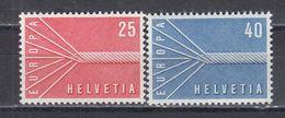 Switzerland 1957 - EUROPA-Cept, Mi-Nr. 646/47, MNH** - Suisse