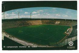 CL338 - CAMPIONATO DEL MONDO WORLD CHAMPIONSHIP IX CAMPEONATO MUNDIAL DE FUTBOL MEXICO 1970 PUEBLA 70 ESTADIO CUAUHTEMOC - Soccer
