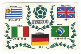 CL339- CAMPIONATO DEL MONDO WORLD CHAMPIONSHIP IX CAMPEONATO MUNDIAL DE FUTBOL MEXICO 1970 PUEBLA 70 CAMPEONES MUNDIALES - Calcio